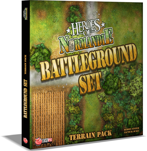 Heroes of Normandie Battleground Terrain Set box