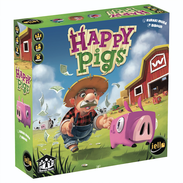 happy pigs 3d box