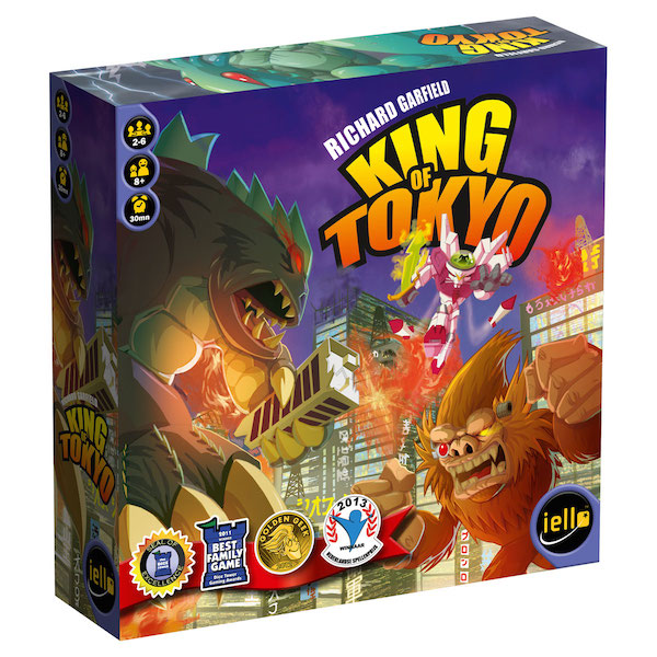 King of Tokyo 3d box