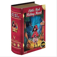 little red riding hood 3d box