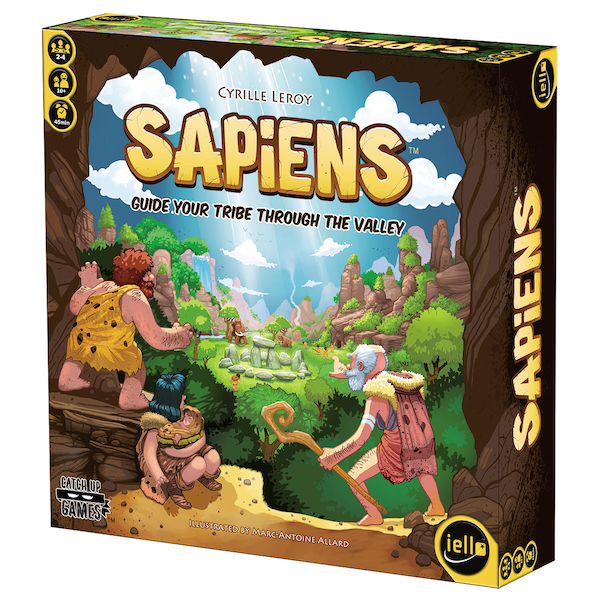 Sapiens box cover