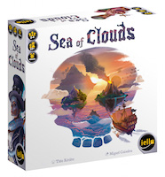sea of clouds 3D box cover