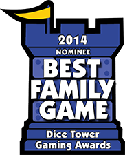 dice tower best family game 2014 nominee award