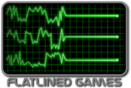 flatlined games logo