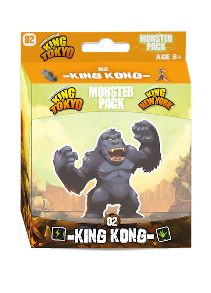 King Kong Monster: King of Tokyo  -  Iello