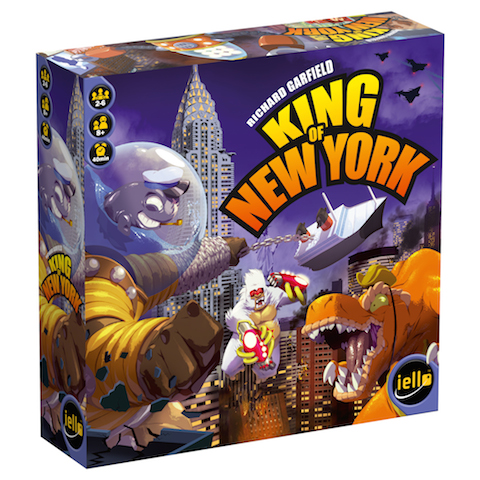 King of New York - Iello games