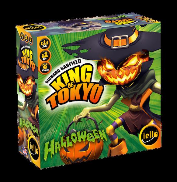 Sonstige IELLO King of Tokyo Halloween Strategy Board Game