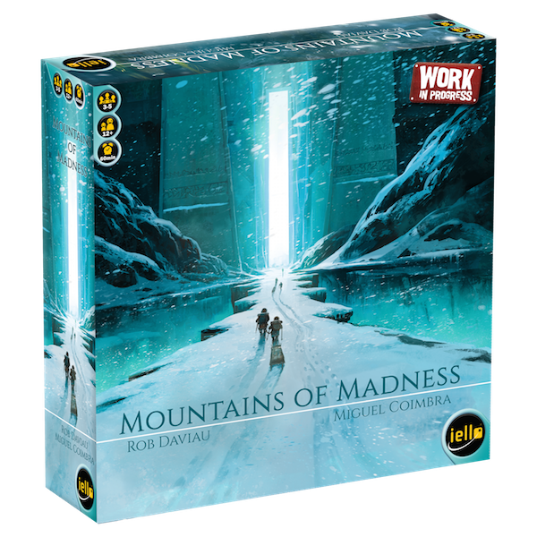 mountains of madness Games box